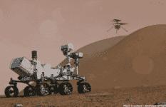 Perseverance rover, içinde gizlenen minik helikopter, 14 nisanda havalanacak