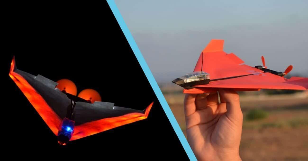 Kağıt uçaktan drone dönüşüm, nasıl yapılır?